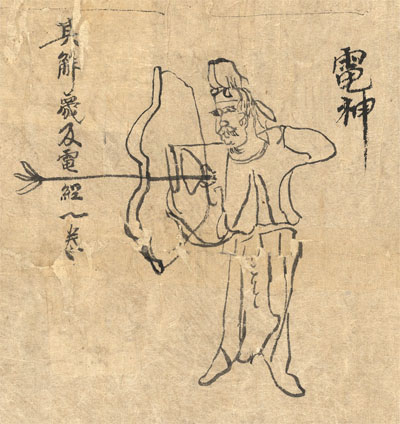 The last section of the S.3326 document showing the image of a bowman in traditional clothes shooting an arrow.