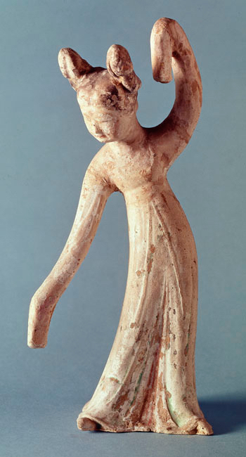 Female dancer, Tang dynasty