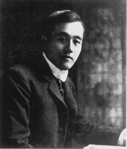 Count Otani in London 1901.