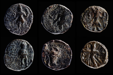 Drachm and Hemidrachm coins (c.127-150).