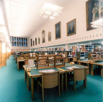 Asian and African Studies reading room.