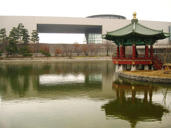 The National Museum of Korea in Yongsan